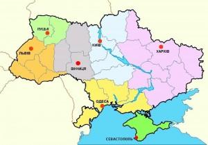 Корта польських консульських округів в Україні
