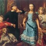 Діти художника, 1870 - Ян Матейко