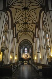 Кафедральний собор Івана Хрестителя - головний неф