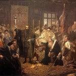Люблінська унія - Картина Яна Матейко