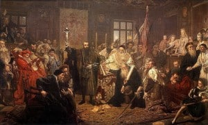 Люблінська унія - Ян Алоїзій Матейко