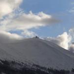 Гора Снєжка зимою