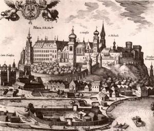 Вавельський замок у 16 столітті