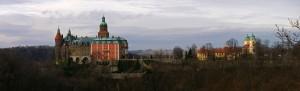 Замок Ксенж - Панорама
