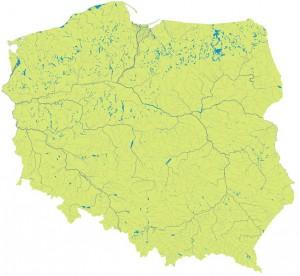Гідрографічна карта Польщі