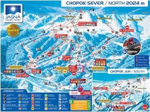 Гірськолижний курорт Закопане - Карта 1