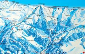 Гірськолижний курорт Закопане - Карта 2