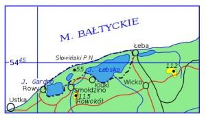 Словінський національний парк - Карта