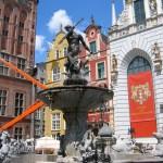 Фонтан «Нептун» — Гданськ