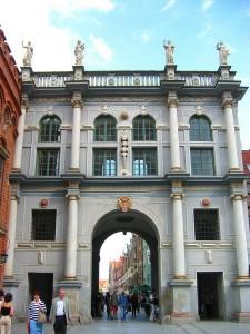 Золоті ворота у Гданську