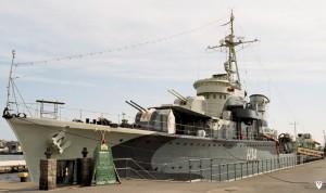 """Морський музей корабель """"Блискавіца"""" - Гдиня"""