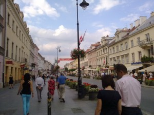 Вулички Старого міста Варшава
