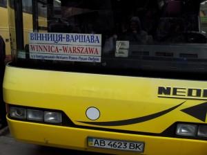 Рейс Вінниця – Варшава
