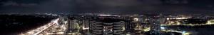 Катовіце - Панорама вночі