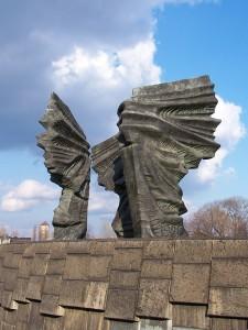 Пам'ятник сілезьким повстанцям. Катовіце