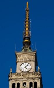 Палац культури і науки. Баштовий годинник