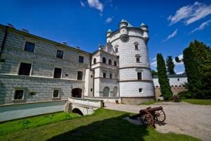 Красичинський замок. Інший вхід
