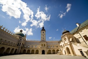 Красичинський замок всередині