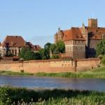 Замок Тевтонського ордену в місті Мальборк