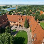 Замок Мальборк - вигляд з верху