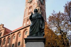Пам'ятник Миколі Копернику в Торуні