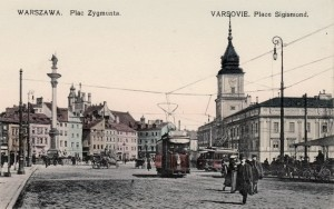 Королівський замок Варшави у 1910 році