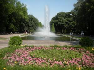 Фонтан у парку Планти. Білосток