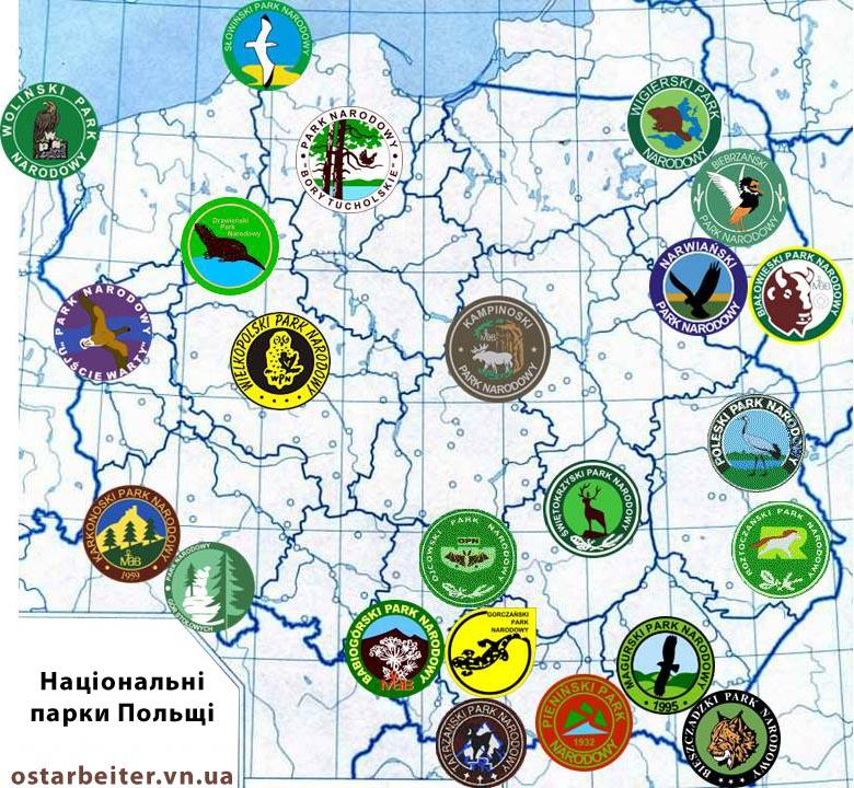 Національні парки Польщі