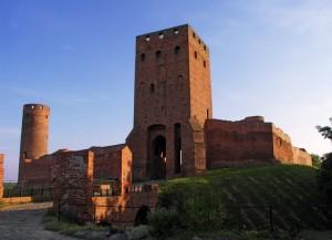 В'їзна вежа замку Черськ