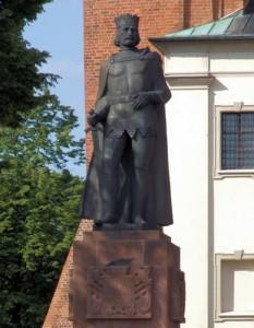 Пам'ятник Болеславу Хороброму. Гнєзно