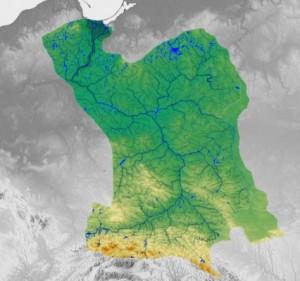 Карта Вісли