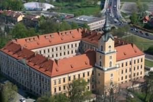 Жешувський замок - Вигляд зверху