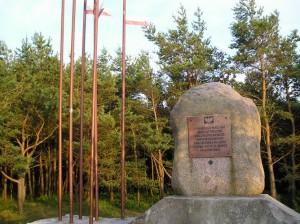 Пам'ятник «Заручення Польщі з морем». Мжежино