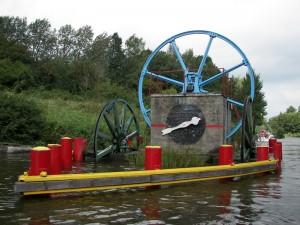 Ельблонгський канал - Механізм