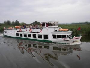 Ельблонгський канал - Пасажирське судно