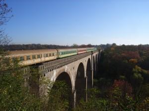 Залізничний міст у Згожельці