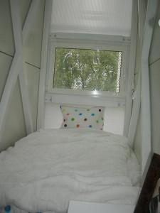 Самий вузький будинок у світі - Спальня