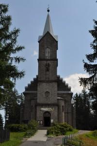 Костел Bożego Ciała. Шклярська Поремба