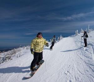 Гірськолижний курорт Шклярська Поремба для сноубордистів