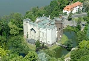 Замок Курник - Вигляд зверху