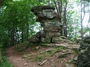 Чортовий Камінь на Явожині Криницькій