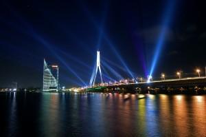 Фестиваль світла Staro Riga