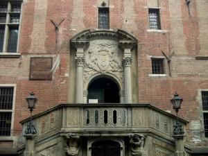 Леви з гданської ратуші