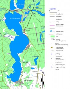 Хажіковське озеро - Карта