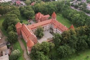 Замок в Битуві - Вигляд зверху