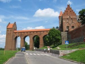 Західне крило і Гданісько. Замок у Квідзині