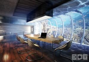 Проект підводного готелю в Польщі