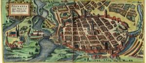 Познань у 1617 році