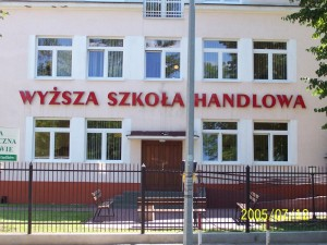 Вища школа торгівлі в Радомі