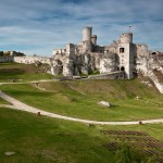 Замок Огродинець - Панорама